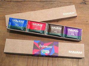 Amma - caixa de mini tabletes de sabores intensos