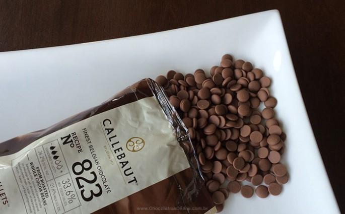 Callebaut - callets de chocolate ao leite
