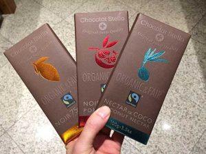 Chocolat Stella (Casa Santa Luzia) tabletes orgânicos e fairtrade