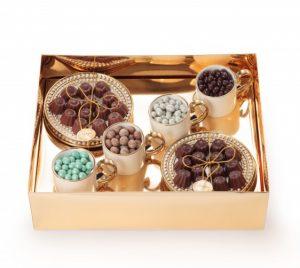 Chocolat du Jour kit xicara e perolas