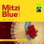 Zotter - Mitzi Blue - Hot Stuff - 70 Cacau, Morango Organico com Pimenta