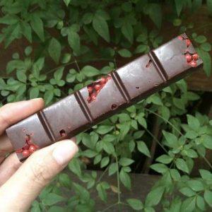 AMMA chocolate amargo com maracujá e pimenta