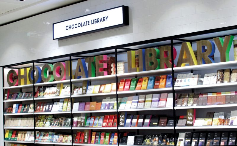 Selfridges - Chocolate Library