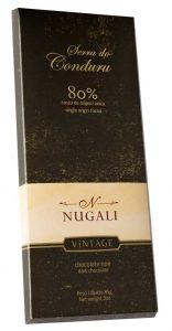 Nugali - Serra do Conduru 80% cacau- premiado no International Chocolate Awards 2016