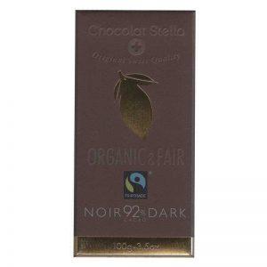 Chocolat Stella 92% Cacao Noir