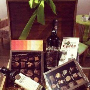 Chianti Chocommelier - kit vinho, azeite, café e chocolate