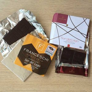 Cacau Sur del Lago - chocolates Franceschi e Domori