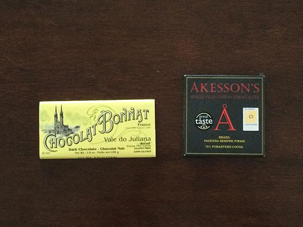 Chocolates de Origem Brasil importados