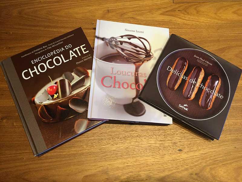 livros sobre chocolate