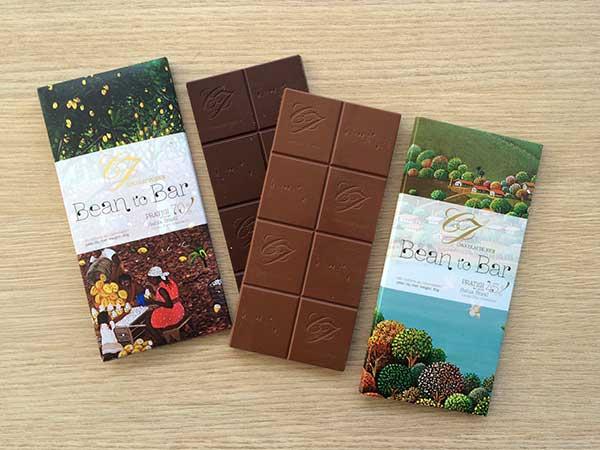 Chocolat du Jour Bean to Bar 70% e 45% de cacau