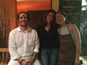 Curso chocolate bean to bar Amma e Mission Chocolate - Diego, Zelia e Carol