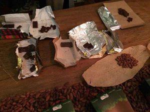 Curso chocolate bean to bar Amma e Mission Chocolate - Degustação