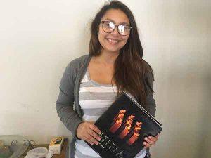 Luisa Abram e o livro
