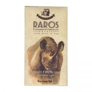 chocolate Raros 100% cacau
