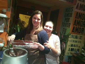 Zelia e Arcelia - curso bean to bar Amma