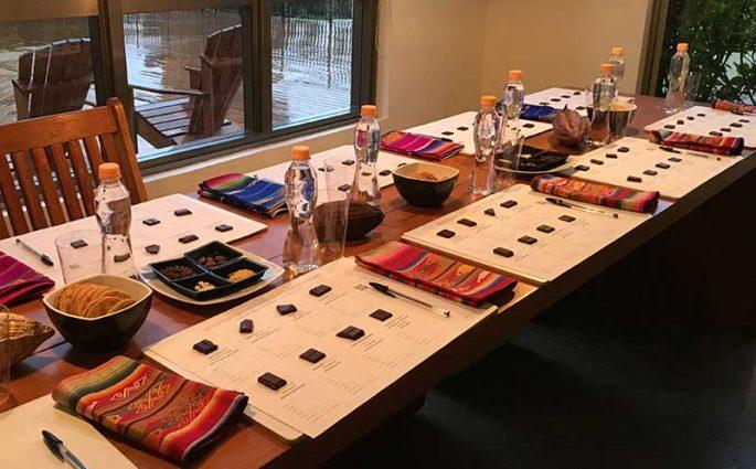 Degustação de chocolates - Chocólatras Online e Mission Chocolate