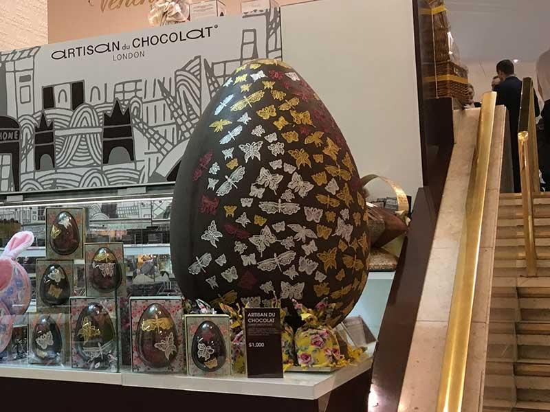 Artisan du Chocolat - Ovo de Páscoa gigante