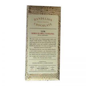Dandelion - Tanzania 70% cacau