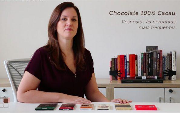 chocolate 100% cacau - perguntas e respostas