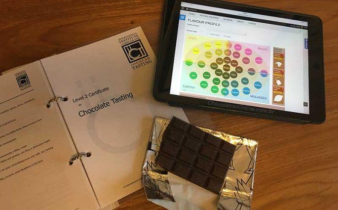 Curso de degustação de Chocolates em Londres: Chocolate Tasting Institute, março 2017