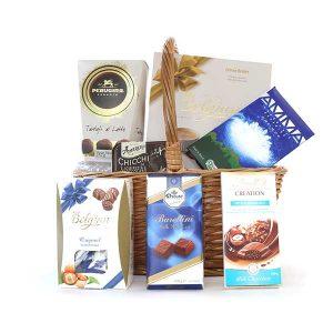 Empório Santa Maria - cesta de chocolates de dia das mães
