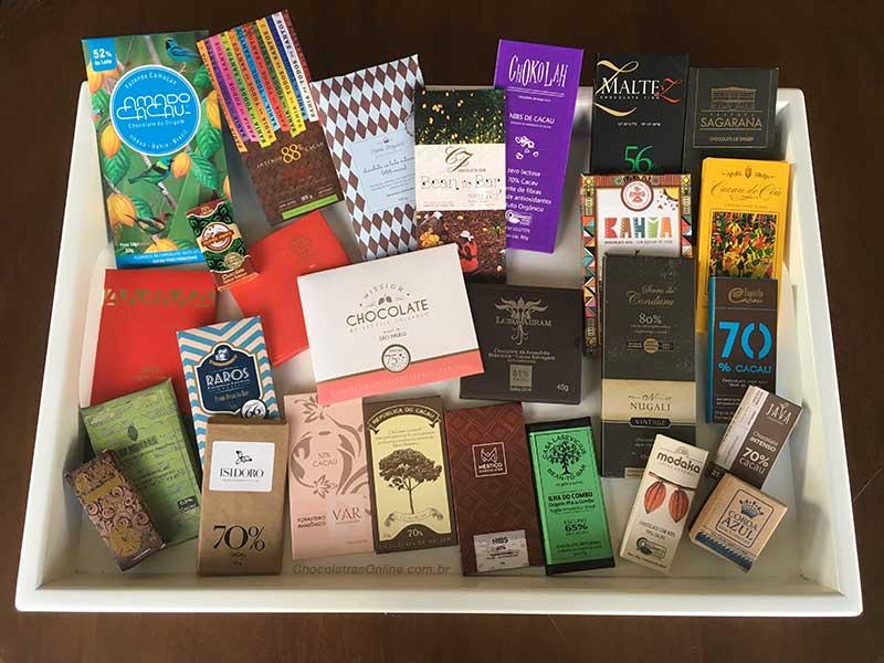 Chocolates bean to bar brasileiros 2017