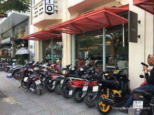 visita na loja da Marou em Ho Chi Minh