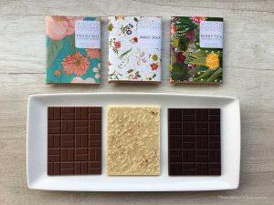Mission Chocolate barras Arroz Doce, Nibby e Paã de mel