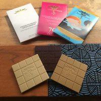 Luisa Abram Chocolates brancos e intenso