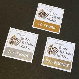 Prêmio Bean to Bar Brasil 2017 - selos