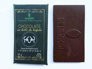 De Mendes - chocolate com leite de búfala