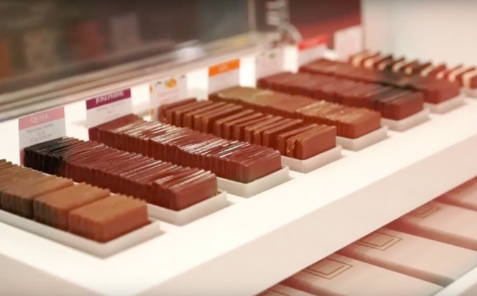 chocolates do Salon du Chocolat Paris 2016