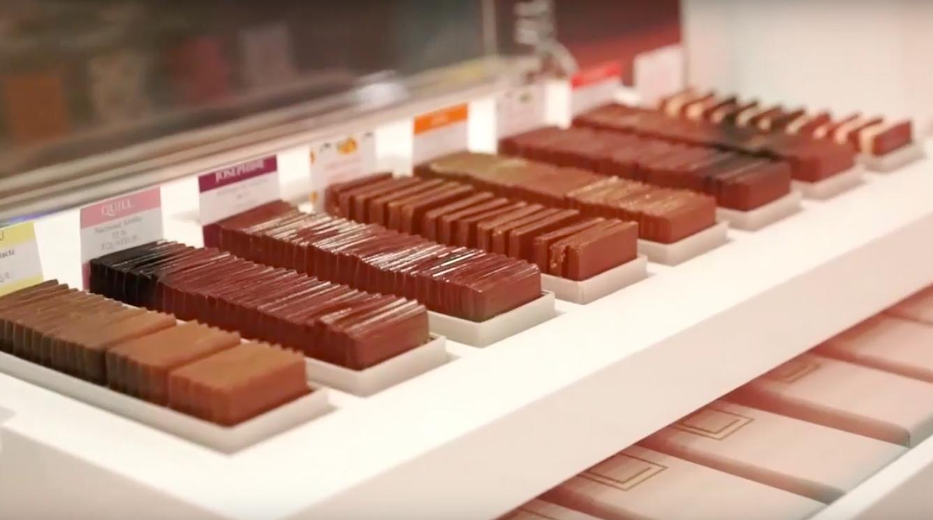 chocolates do Salon du Chocolat Paris 2016