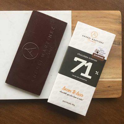 Andrei Martinez chocolate amargo 71% cacau