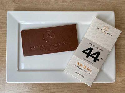 Andrei Martinez chocolate ao leite 44% cacau