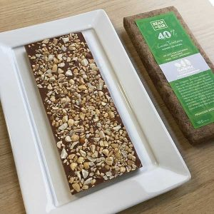 Gallette - Chocolate Bean to Bar com amendoin e castanhas