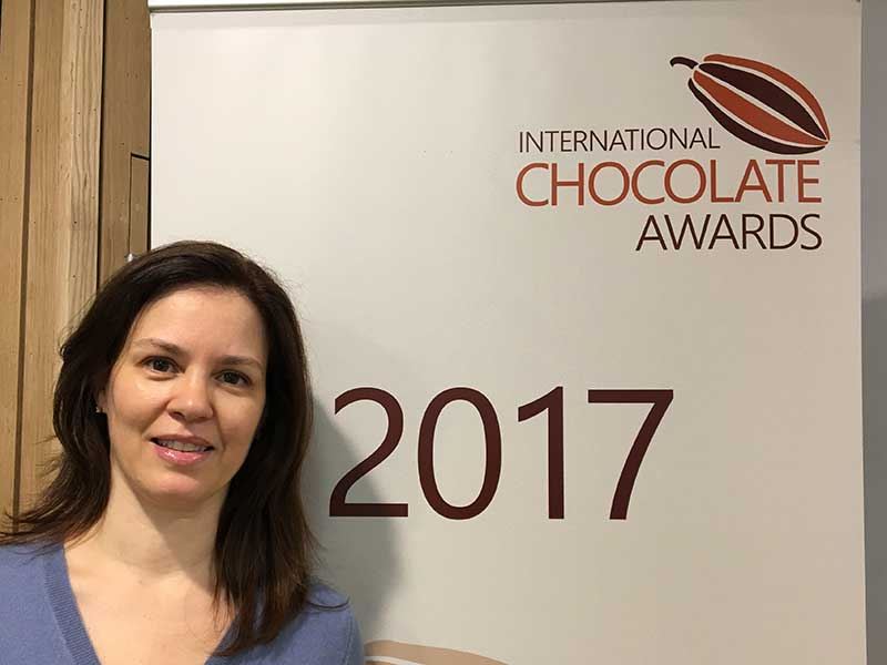 Zelia - International Chocolate Awards 2017