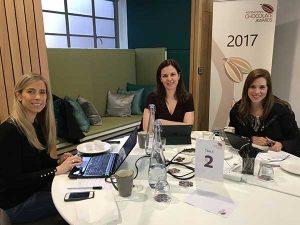 Zelia, Jan e Mariana - International Chocolate Awards 2017