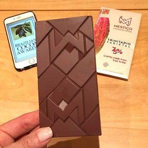 Mestiço chocolate 75% cacau varietal trinitário