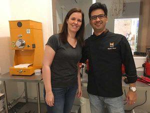 Visita na Mestiço Chocolates - Rogerio Kamei e Zelia Frangioni