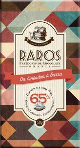 Raros Fazedores de Chocolates - chocolate com Nibs