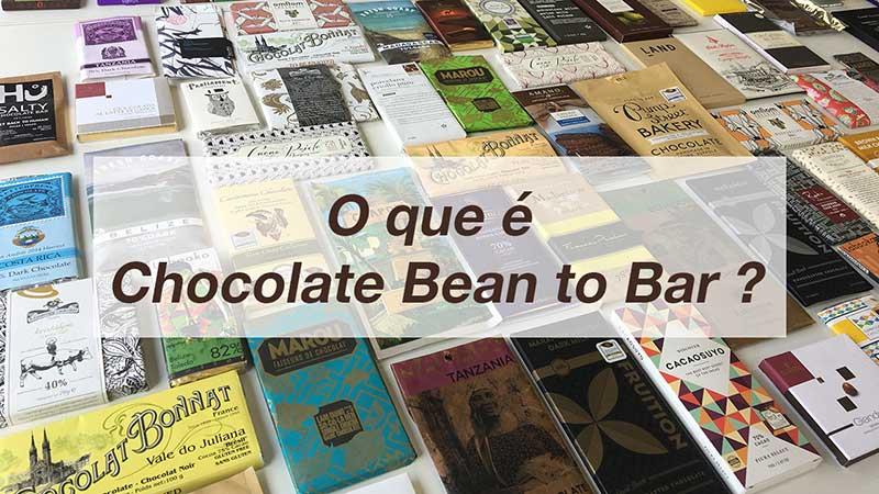 O que é chocolate bean to bar