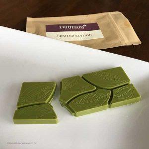 Damson Chocolate - Matcha