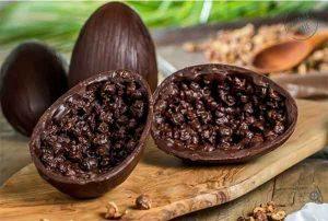 Vila Chocolat Ovo de Páscoa bean to bar crocante de licuri e rapadura