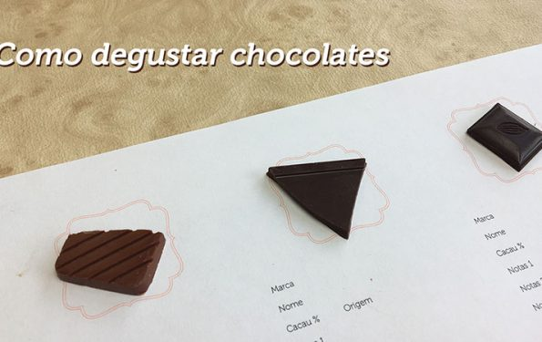 como degustar chocolates