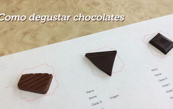 como degustar chocolates