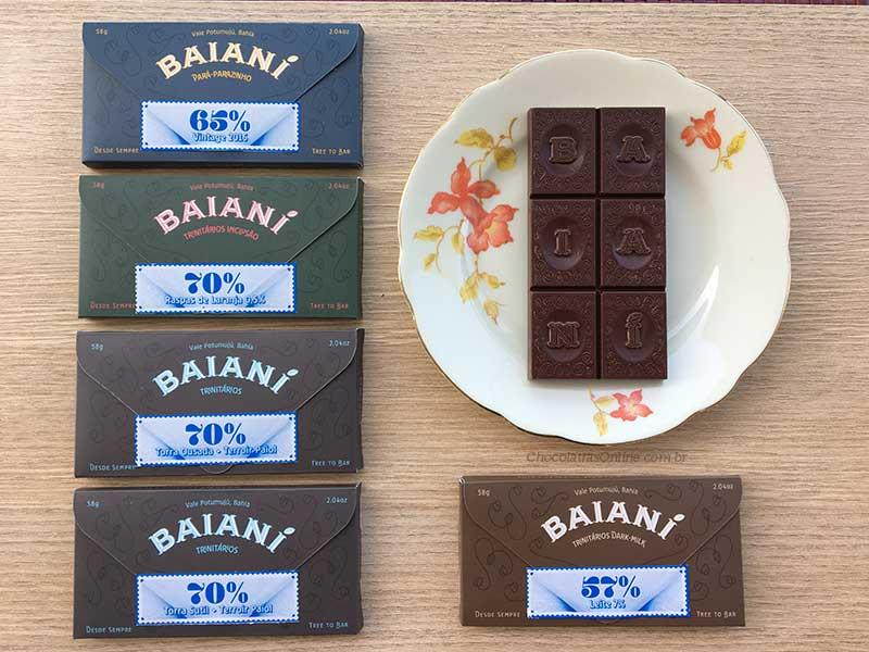 Baiani chocolates barras