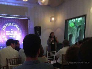 Adriana Reis no Bean to Bar Chocolate Week 2018