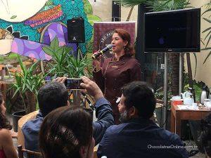Miriam Rocha no Bean to Bar Chocolate Week 2018