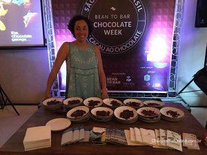 Sunita de Tourreil no Bean to Bar Chocolate Week 2018